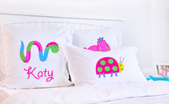 Miss Wiggle - Personalized Kids Pillowcase Collection