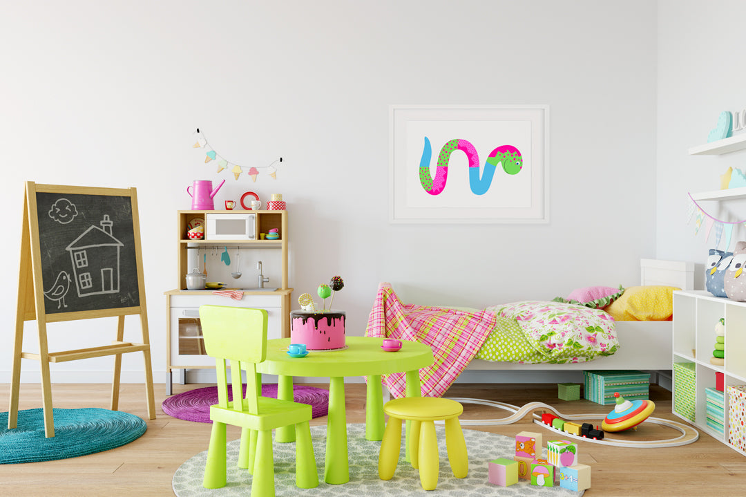 Miss Wiggle Kids Wall Decor Di Lewis Kids Bedroom Decor