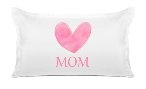 Big Pink Heart – Mother's Day Pillowcase Collection