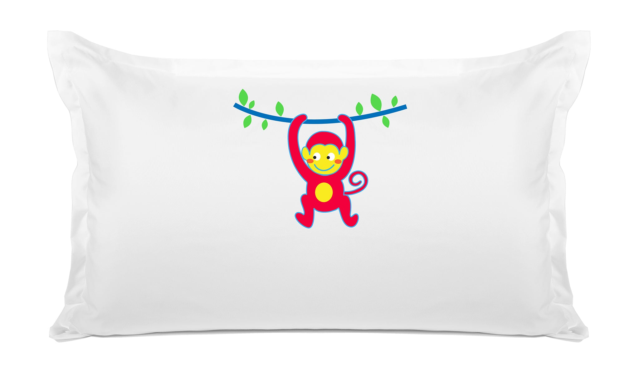 Monkey Business Personalized Kids Pillow case Di Lewis Kids Bedding