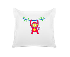 Monkey Business Personalized Kids Euro Sham Di Lewis Kids Bedding