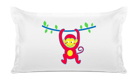 Monkey Business Kids Pillow, Di Lewis Kids Bedding