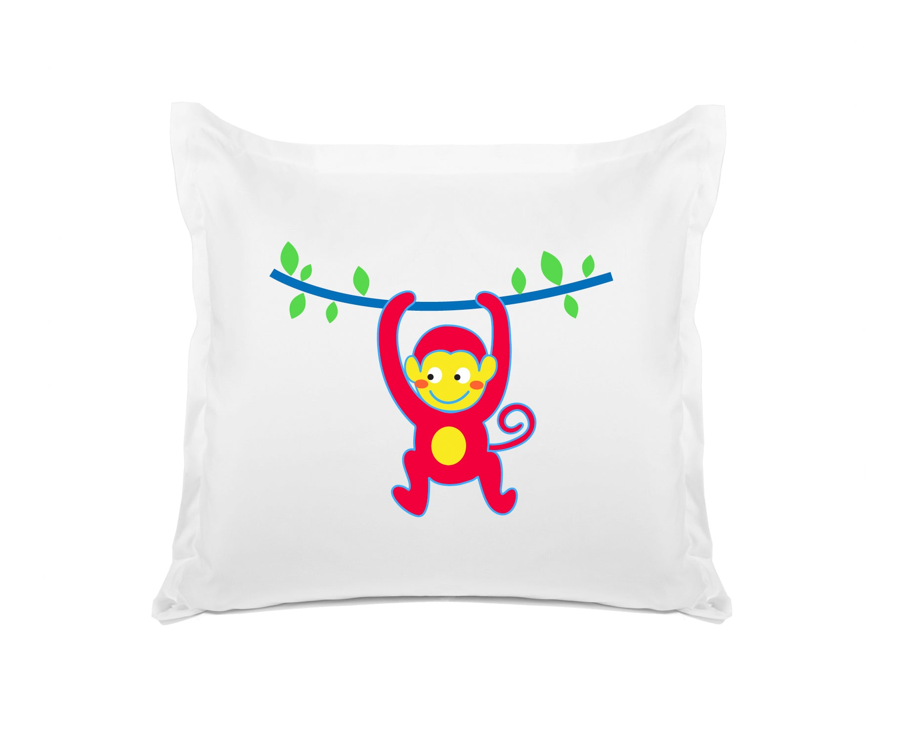 Monkey Business - Personalized Kids Pillowcase Collection-Di Lewis