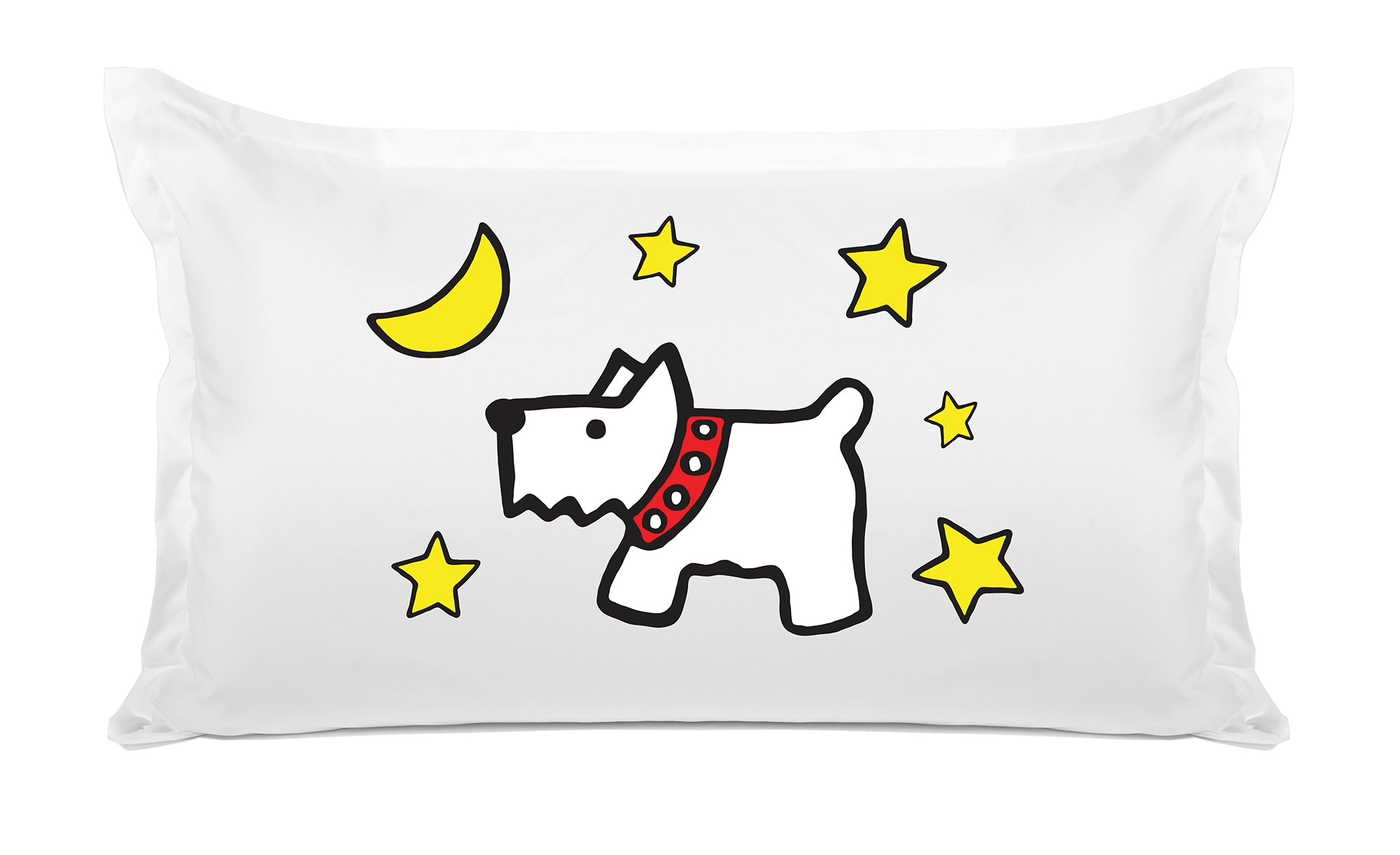 Moon Dog Kids Pillow, Di Lewis Kids Bedding