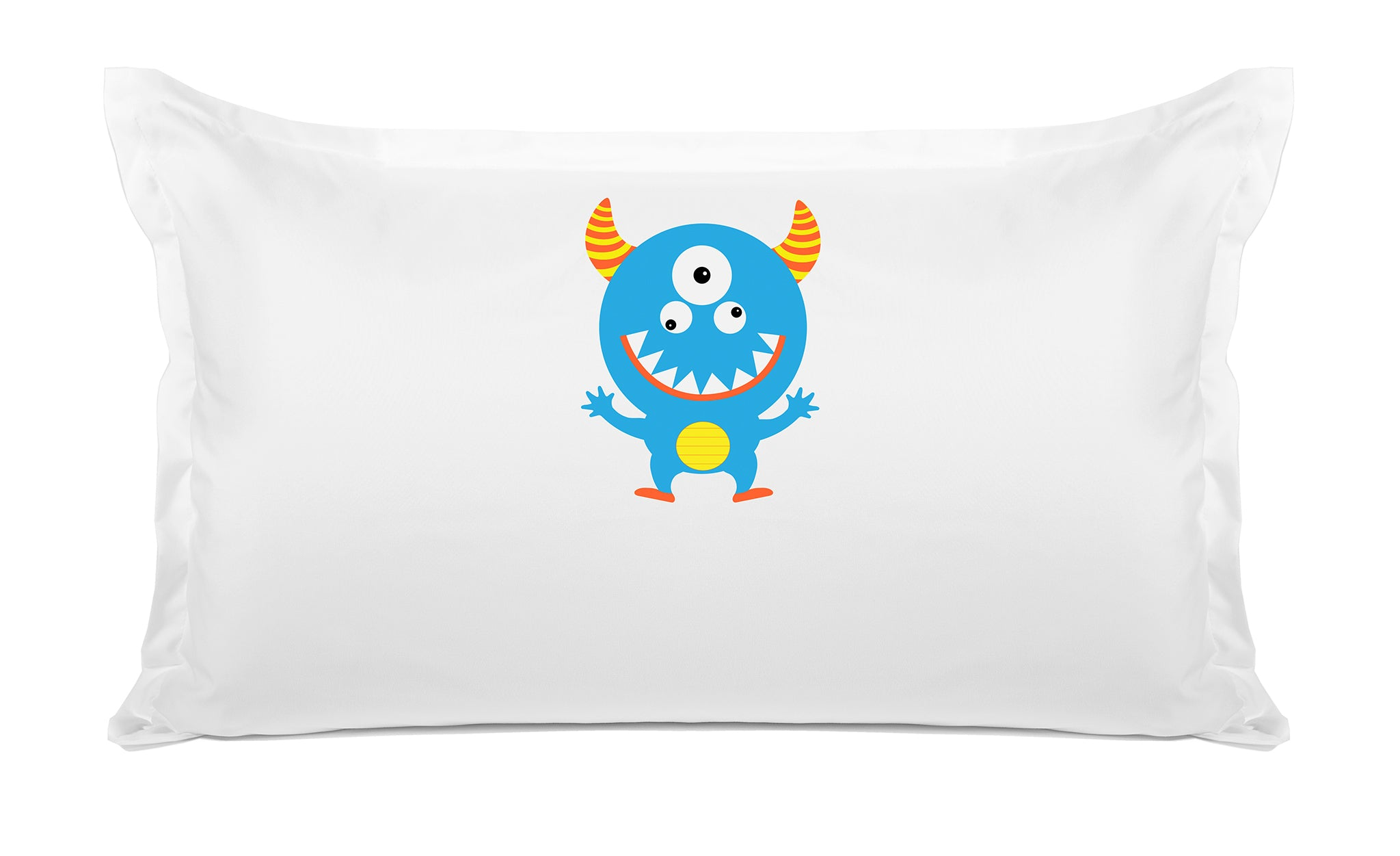 Morris the Monster Personalized Kids Pillow case Di Lewis Kids Bedding