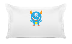 Blue Monster - Personalized Kids Pillowcase Collection
