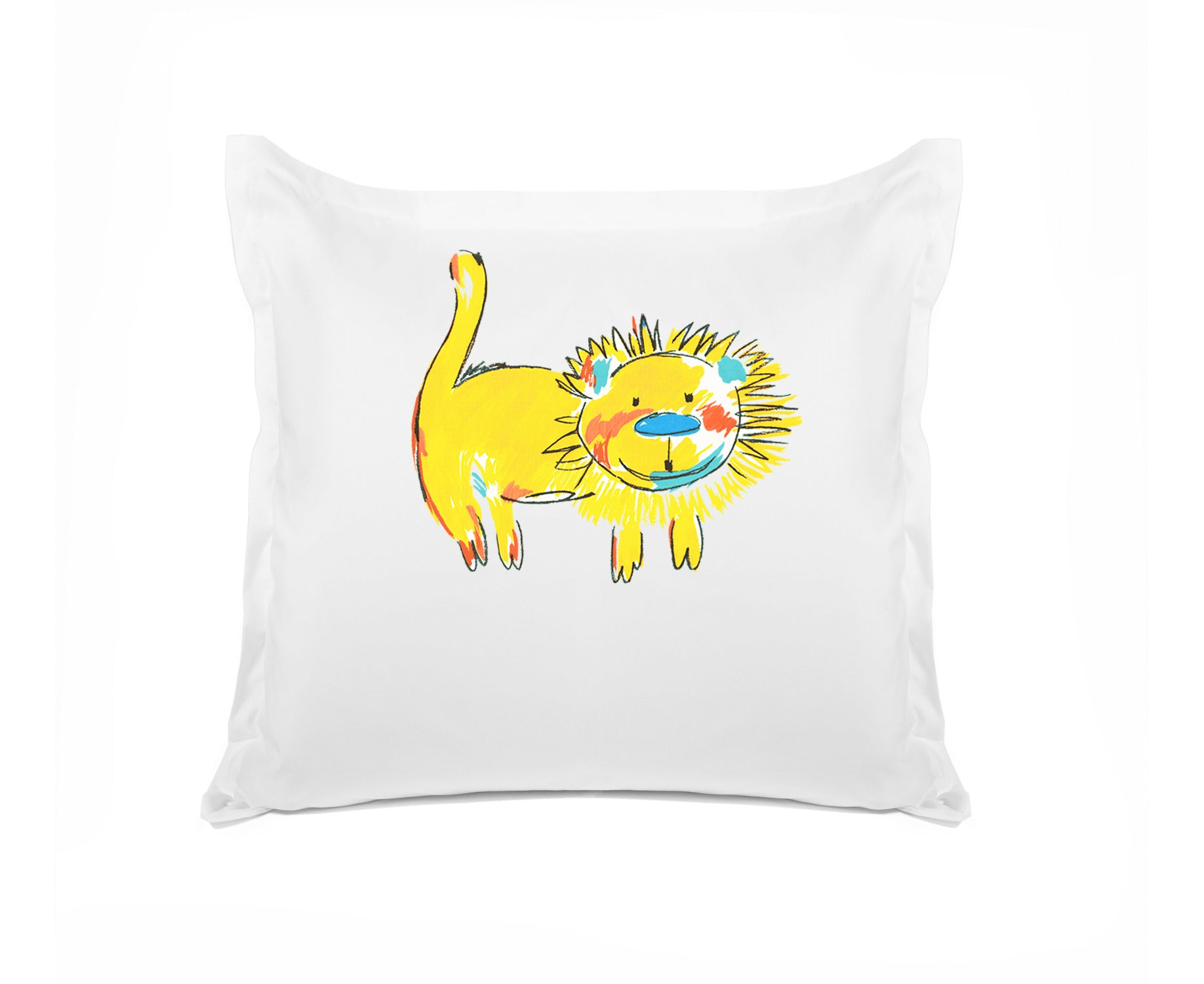 Yellow Lion - Personalized Kids Pillowcase Collection