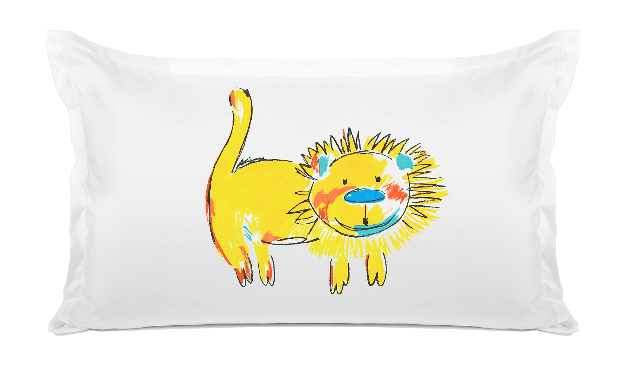 Mr Leo Kids Kids Pillow, Di Lewis Kids Bedding
