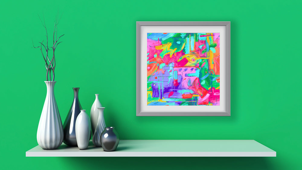 Musee Multi Art Print - Abstract Art Wall Decor Collection