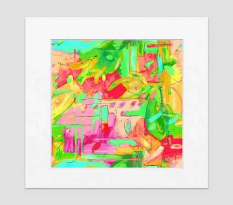 Musee Paintbox Art Print - Abstract Art Wall Decor Collection