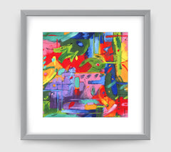 Musee Art Print - Abstract Art Wall Decor Collection-Di Lewis