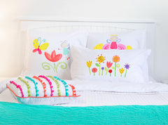 Floral Garden - Personalized Kids Pillowcase Collection