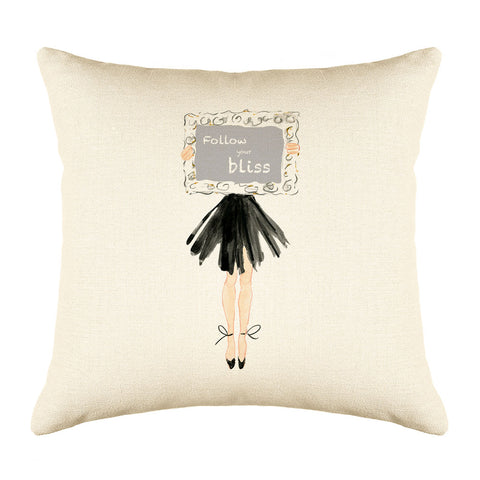 My Way Throw Pillow Cover