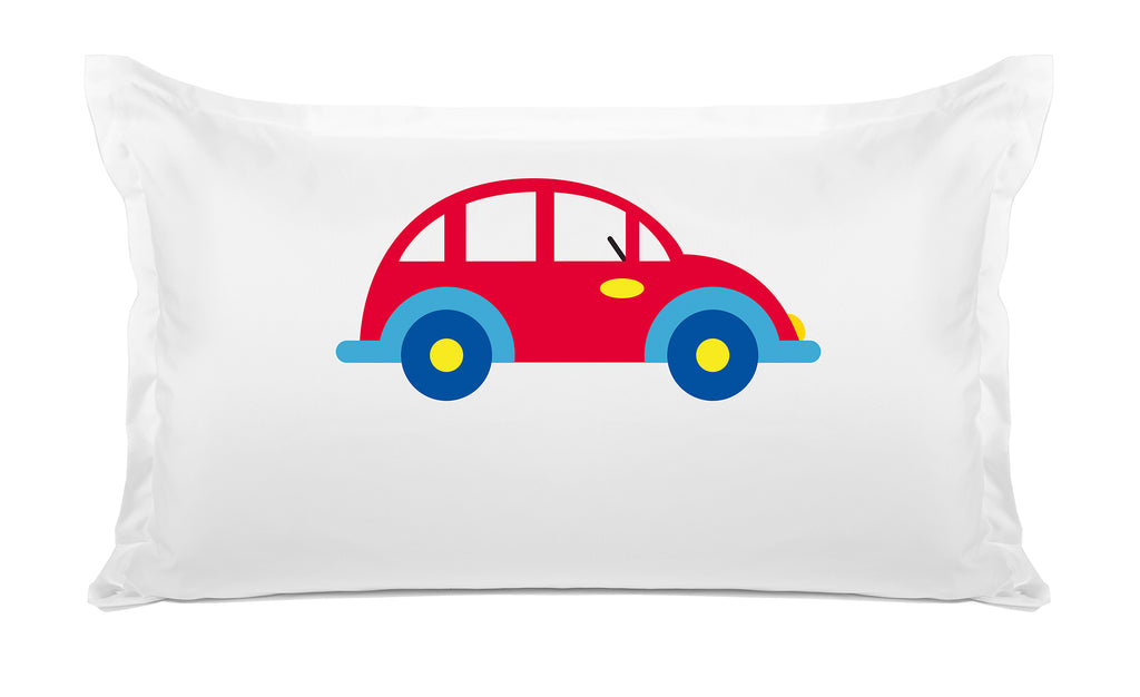 My Car Personalized Kids Pillow, Di Lewis Kids Bedding
