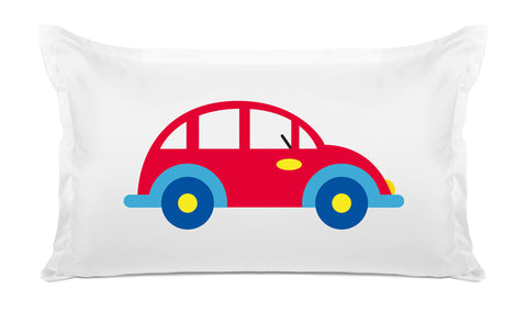 My Car - Personalized Kids Pillowcase Collection-Di Lewis