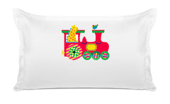 My Choo Choo Personalized Kids Pillow, Di Lewis Kids Bedding