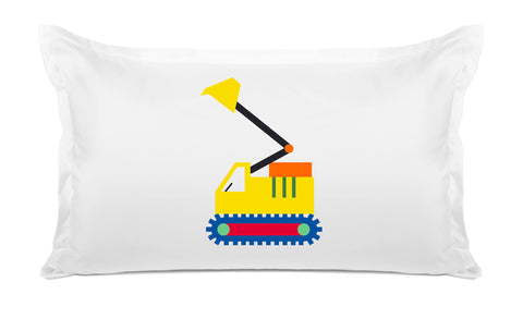 My Digger - Personalized Kids Pillowcase Collection-Di Lewis