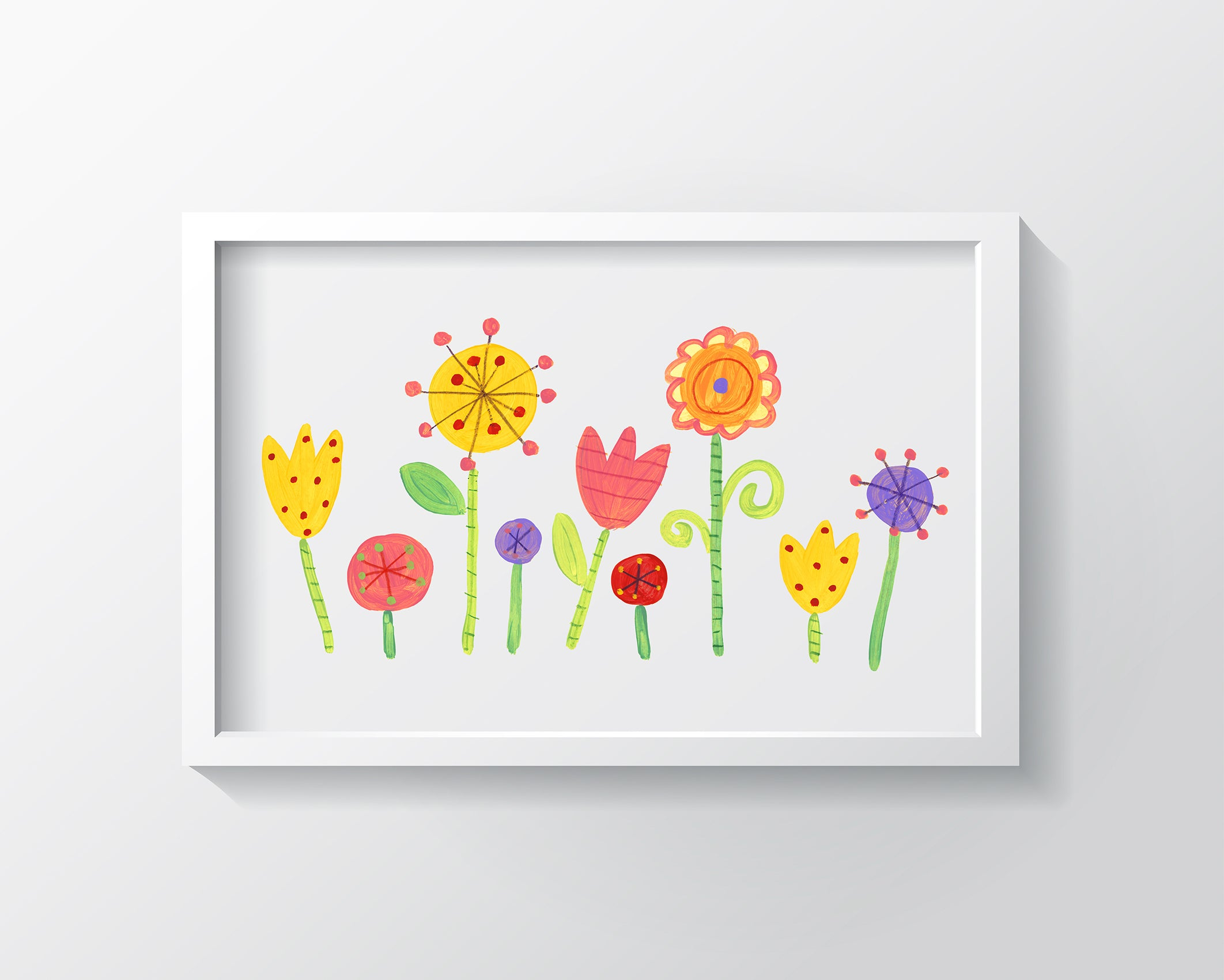 My Garden Art Print - Kids Wall Art Collection-Di Lewis