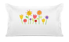My Garden Personalized Kids Pillow, Di Lewis Kids Bedding