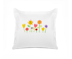 My Garden Personalized Kids Euro Sham, Di Lewis Kids Bedding
