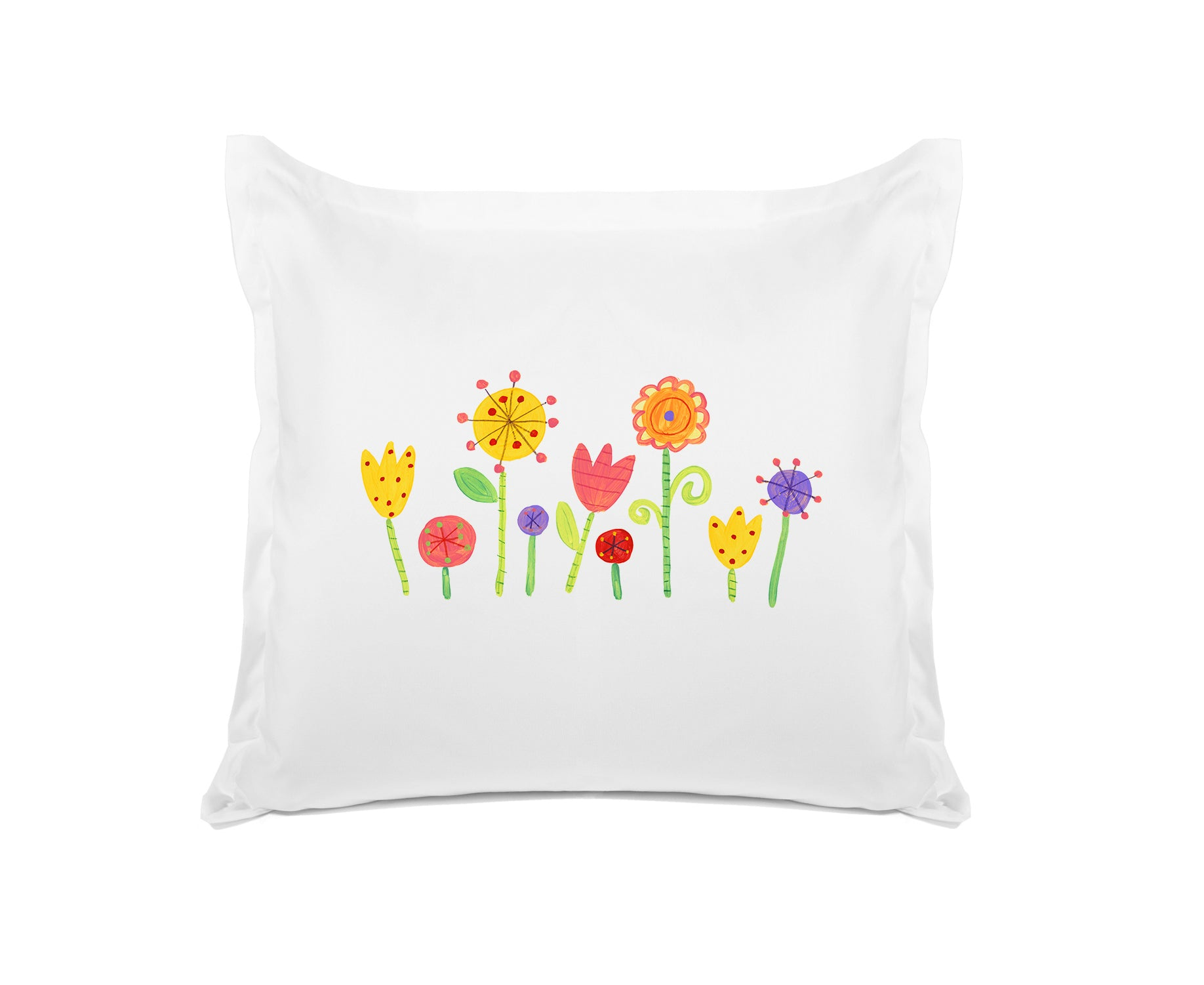 My Garden - Personalized Kids Pillowcase Collection-Di Lewis
