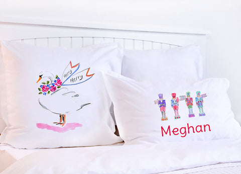 Nutcracker Suite Pillow Cases