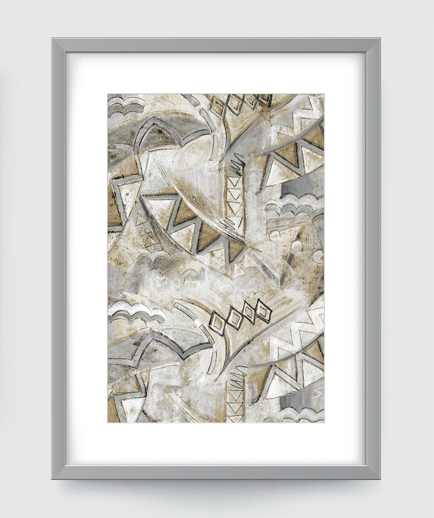 Opera Abstract Art Print Di Lewis Living Room Wall Decor