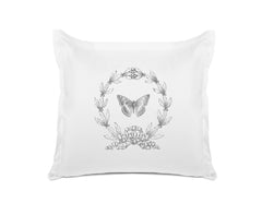 Papillon Vintage Euro Sham Di Lewis Bedroom Decor