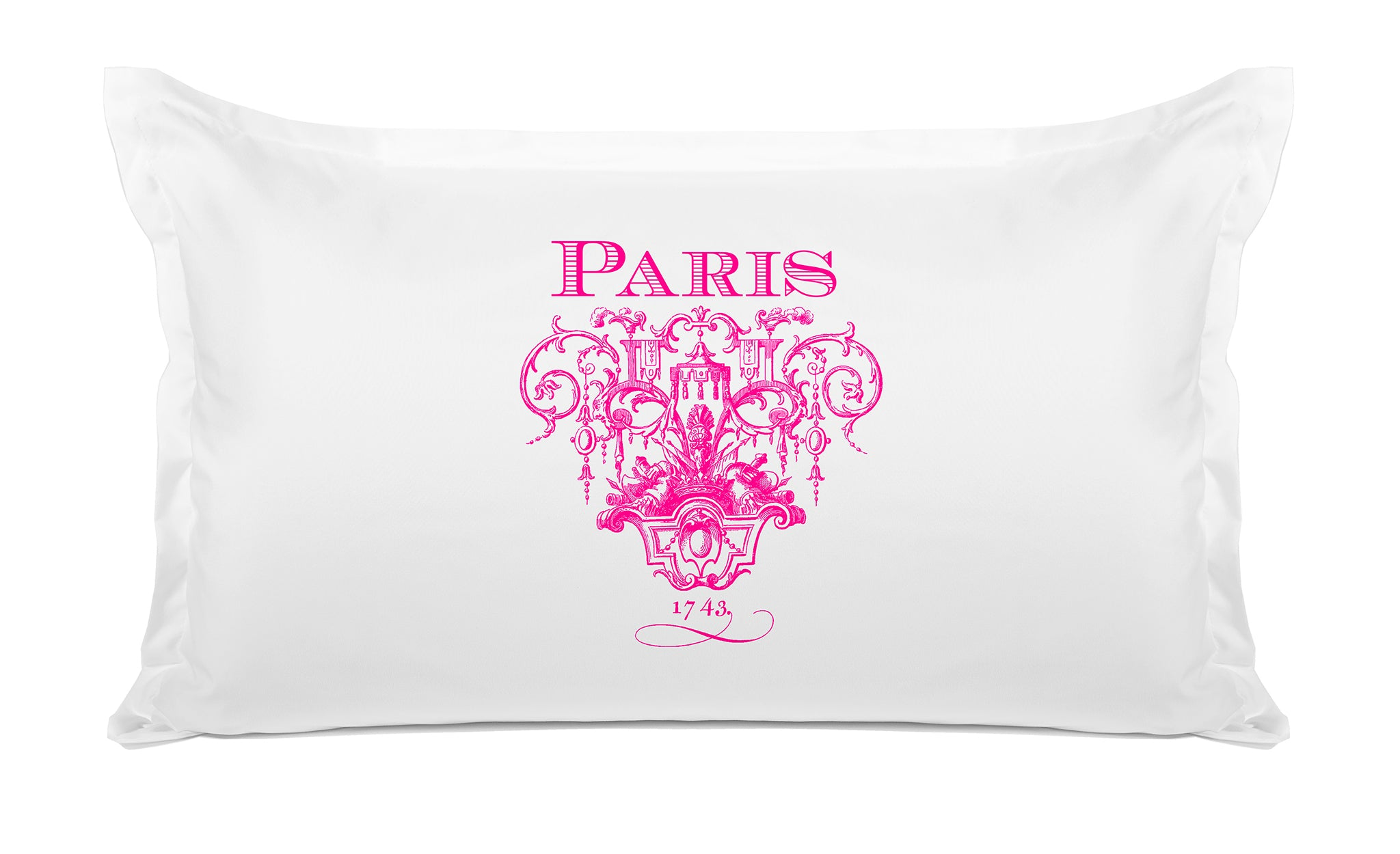 Paris 1743 - Vintage Designs Pillowcase Collection