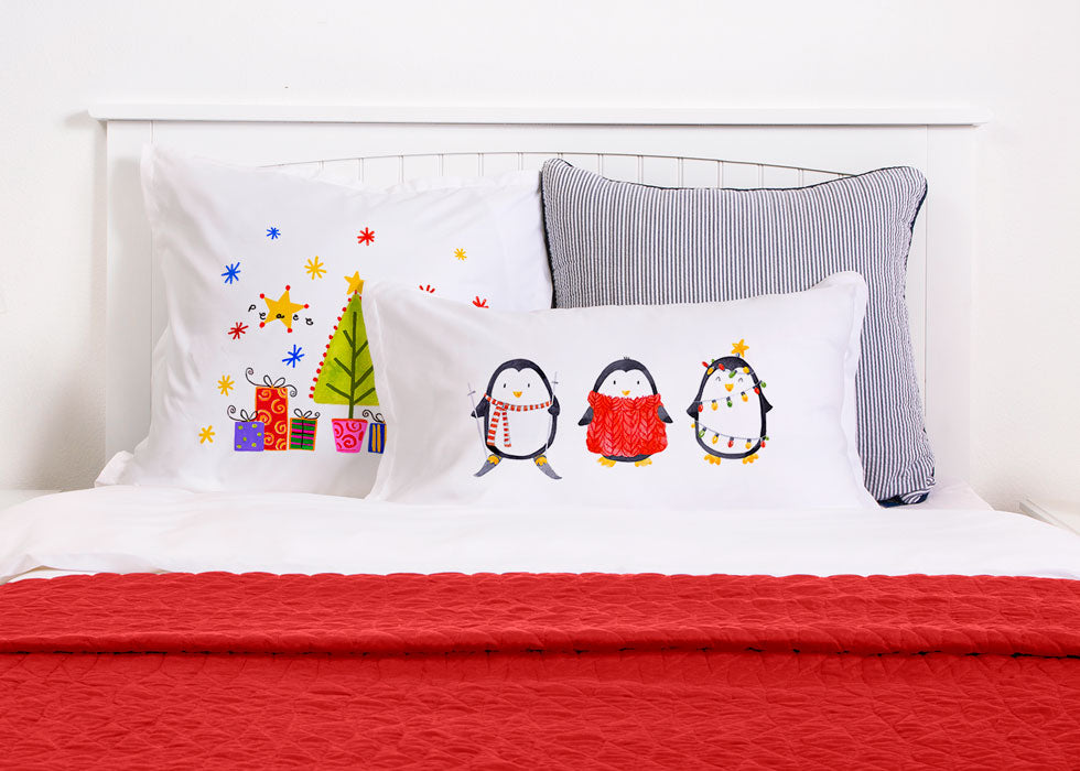 Peewee, Piccolo And Popper - Kids Personalized Pillowcase Collection