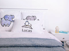 Percy Penguin - Personalized Kids Pillowcase Collection-Di Lewis