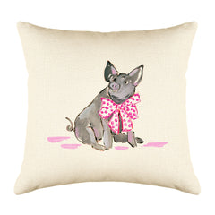 Pippa Pig Throw Pillow Cover