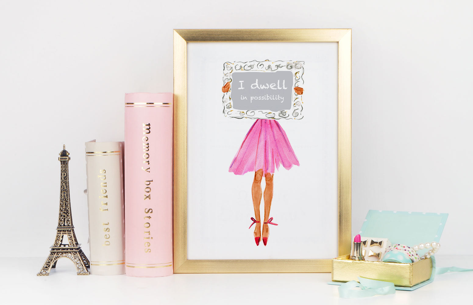 Possibility Art Print - Fashion Illustration Wall Art Collection-Di Lewis