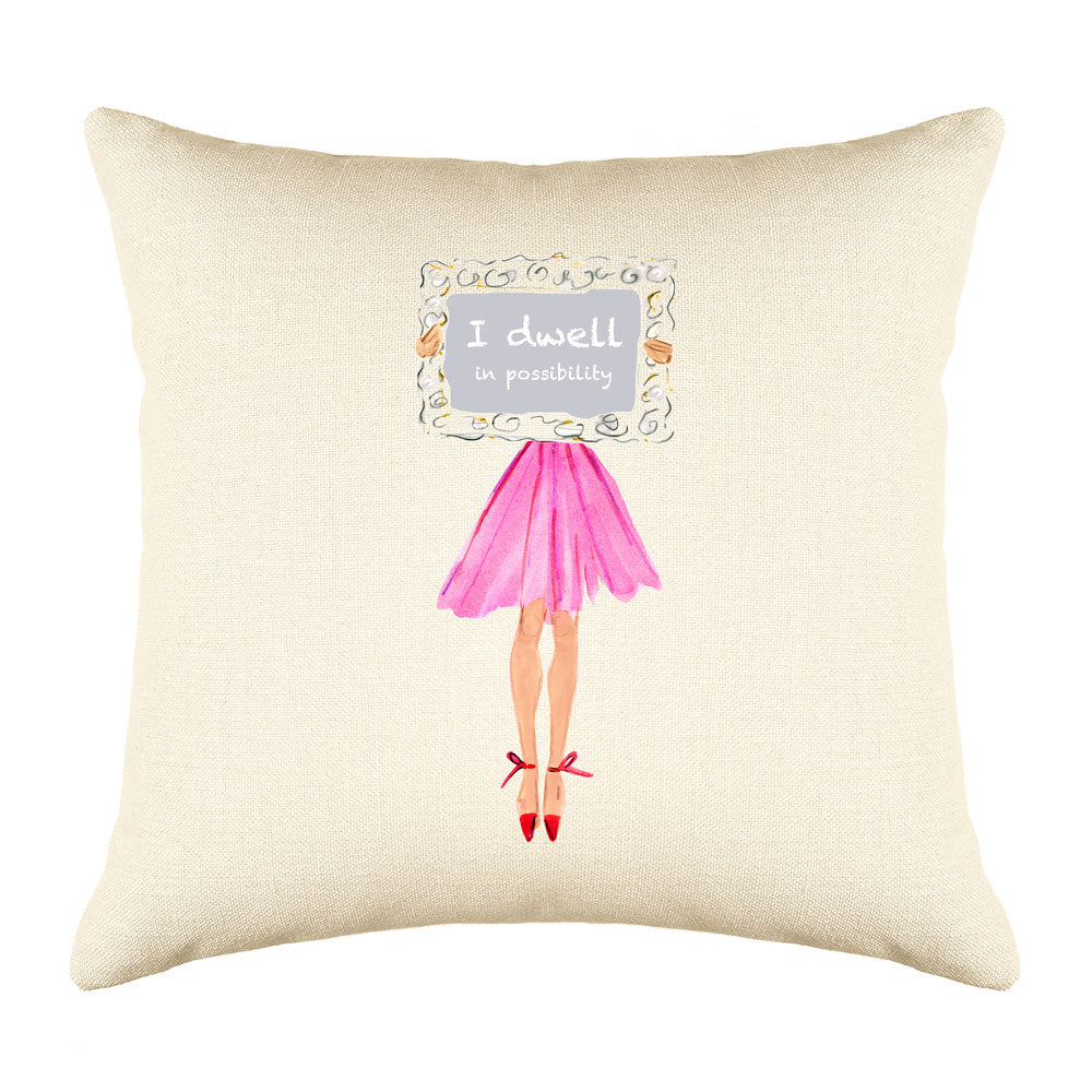 Possibility Throw Pillow Cover