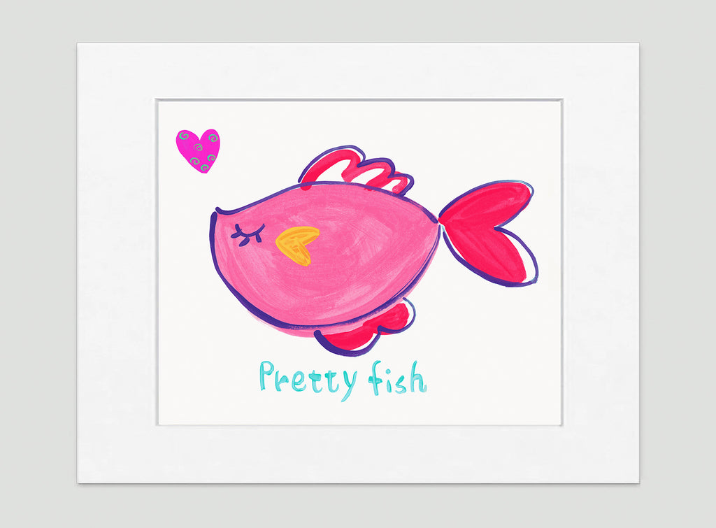Pretty Fish Kids Wall Decor Di Lewis Kids Bedroom Decor