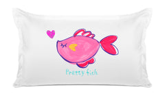 Pretty Fish Kids Pillow, Di Lewis Kids Bedding