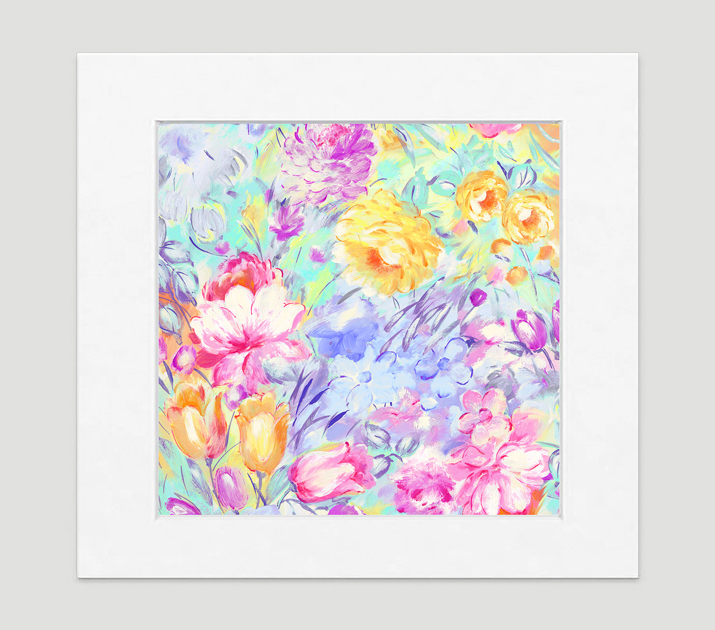 Primavera Impressionist Art Print Di Lewis Living Room Wall Decor