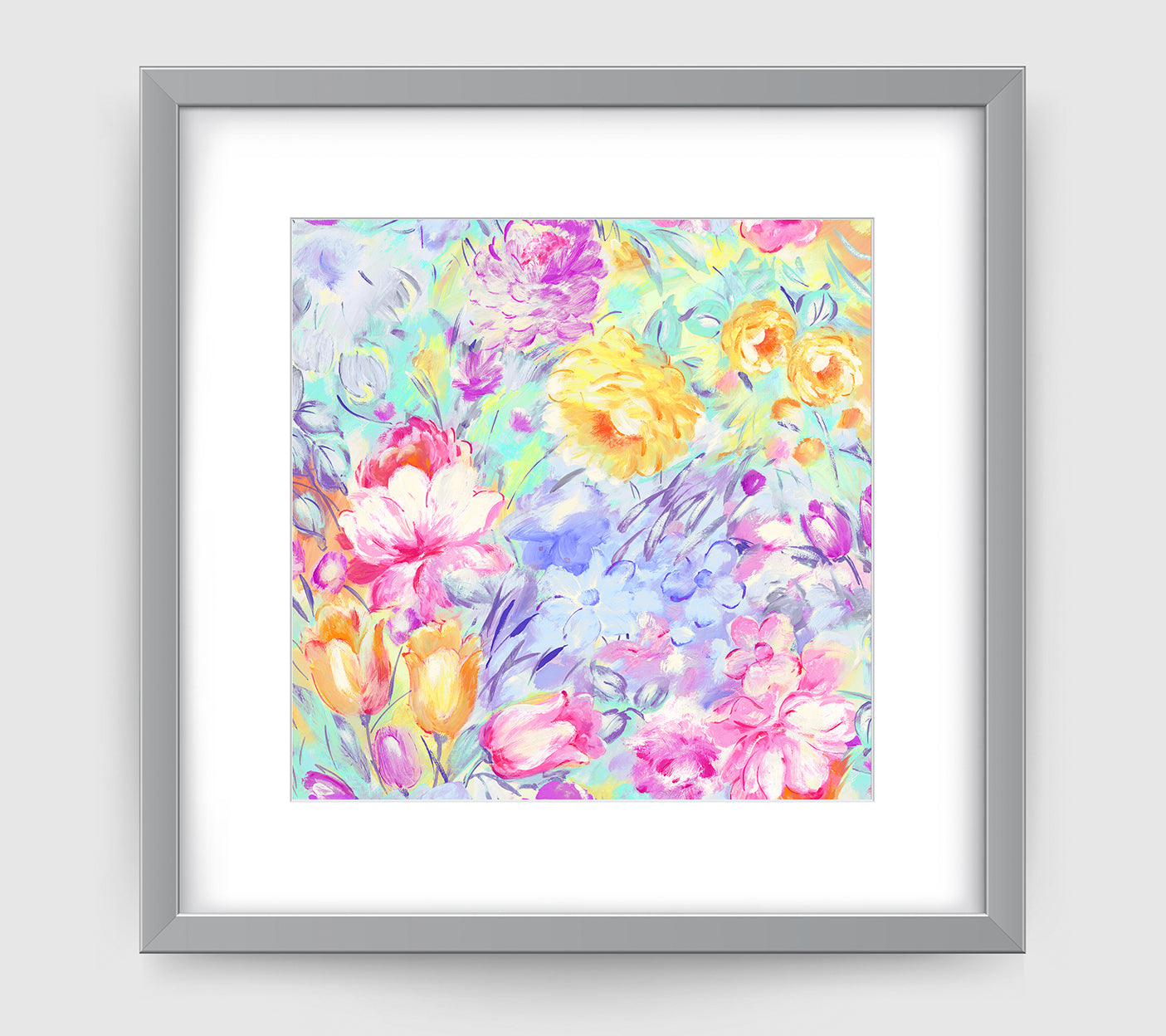 Primavera Art Print - Impressionist Art Wall Decor Collection-Di Lewis
