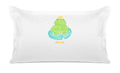 Prince Froggy Kids Personalized Pillow, Di Lewis Kids Bedding