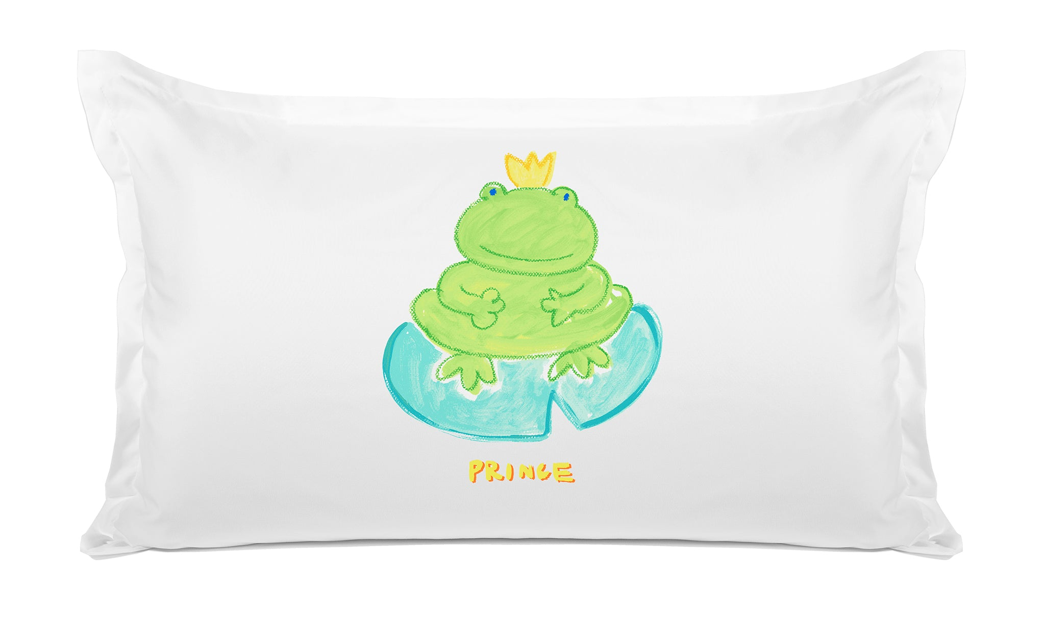 Prince Frog - Personalized Kids Pillowcase Collection