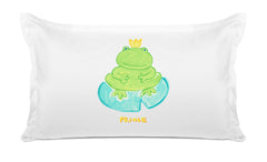 Prince Froggy Kids Pillow, Di Lewis Kids Bedding