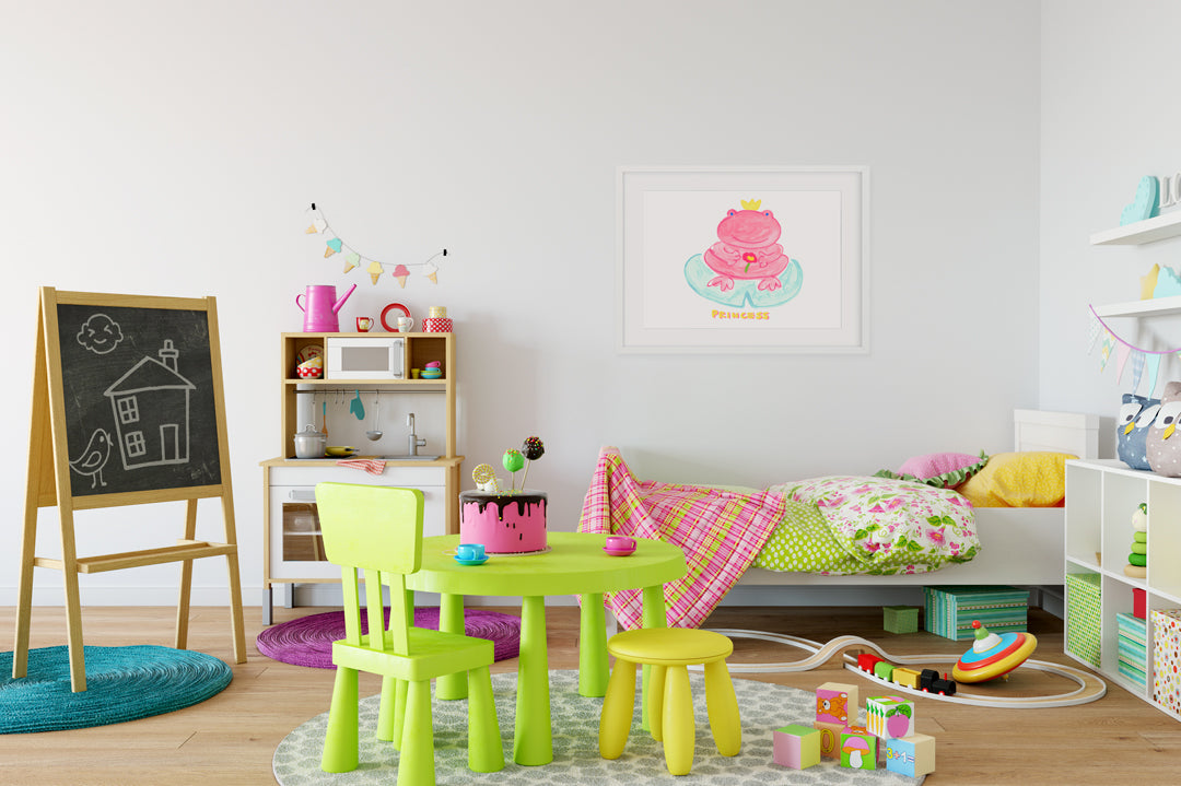 Princess Froggy Kids Wall Decor Di Lewis Kids Bedroom Decor