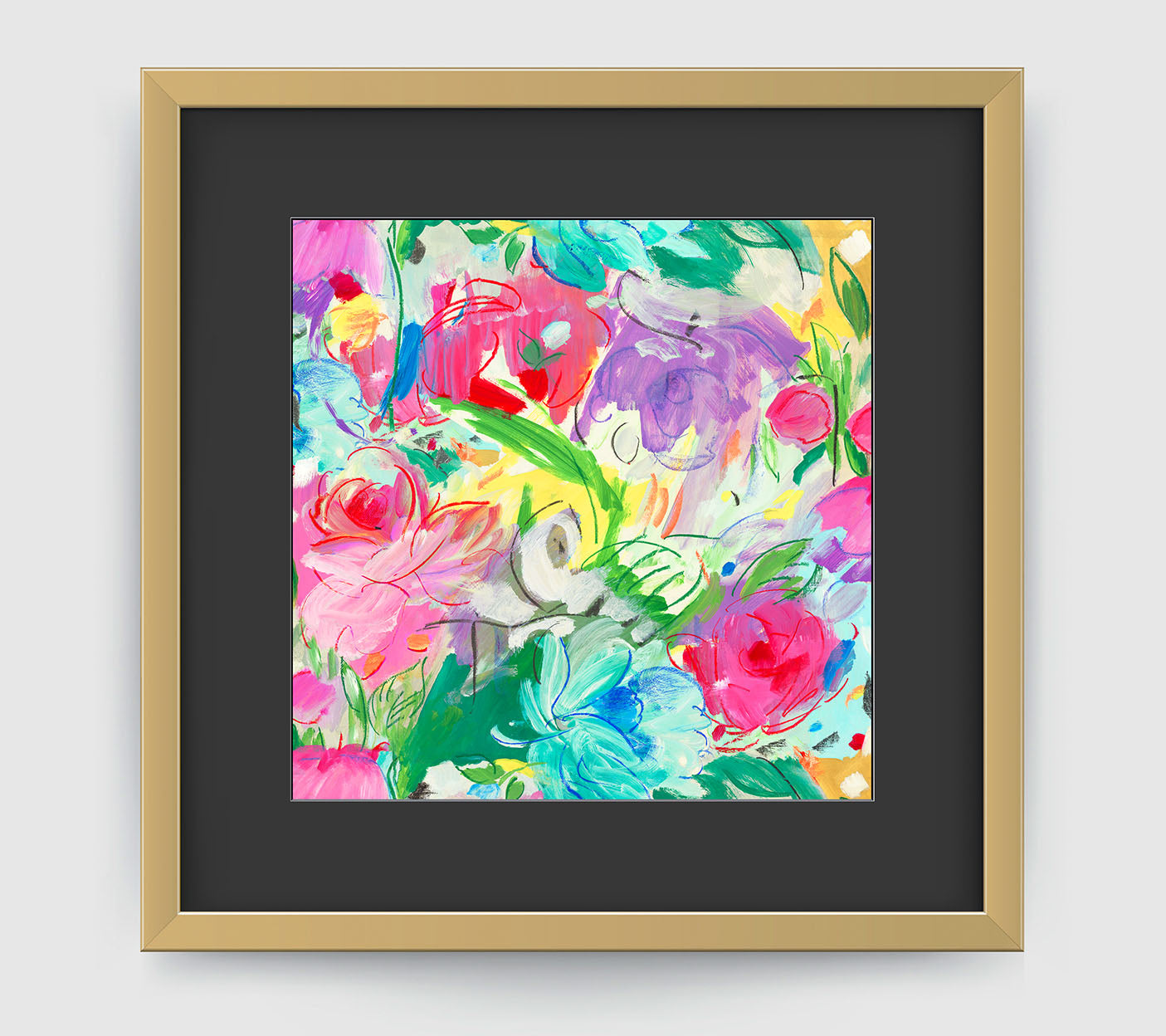 Printemps Impressionist Art Print Di Lewis Living Room Wall Decor