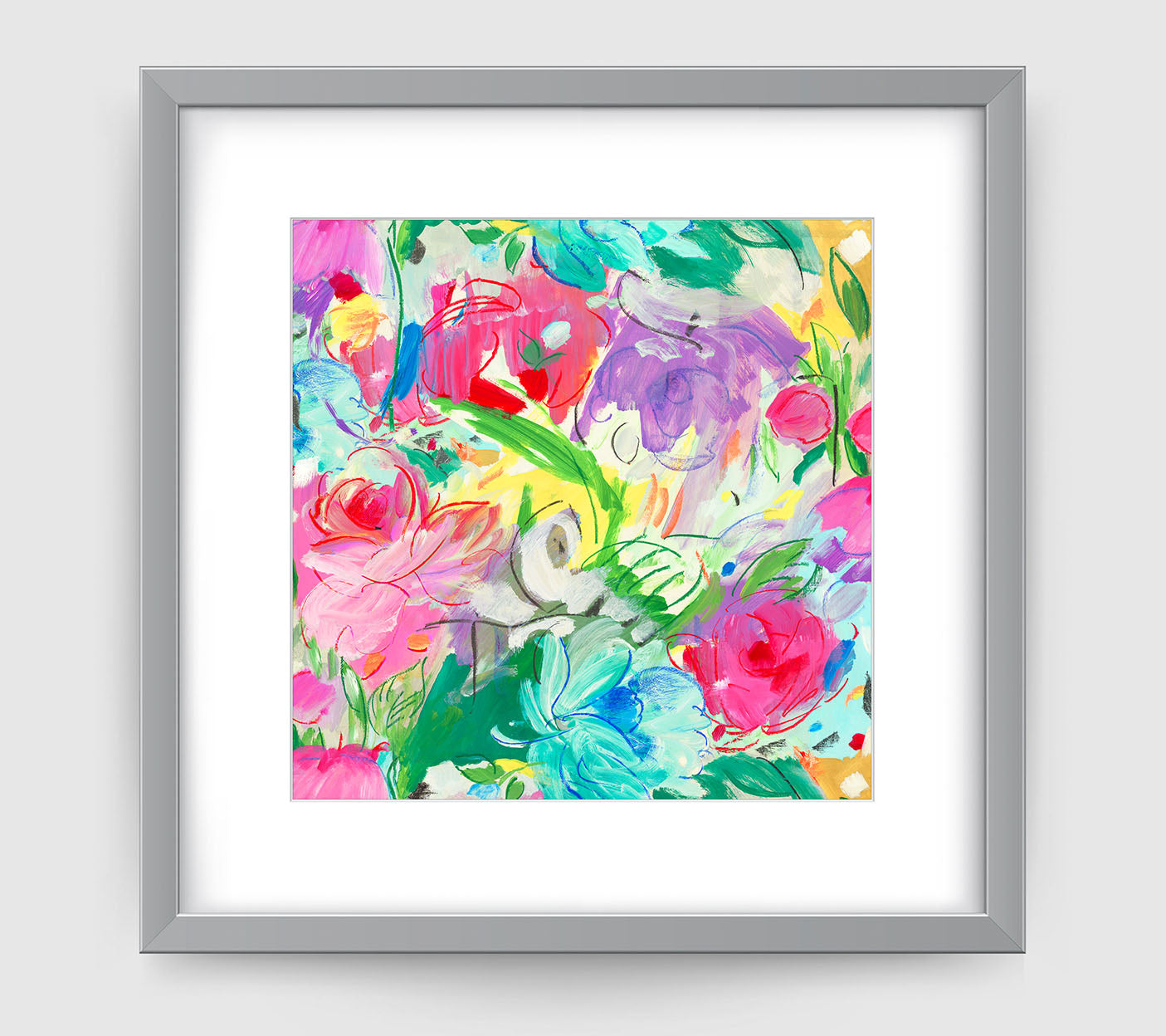 Printemps Art Print - Impressionist Art Wall Decor Collection-Di Lewis