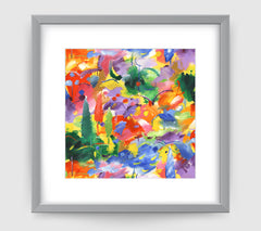 Provence Impressionist Art Print Di Lewis Living Room Wall Decor