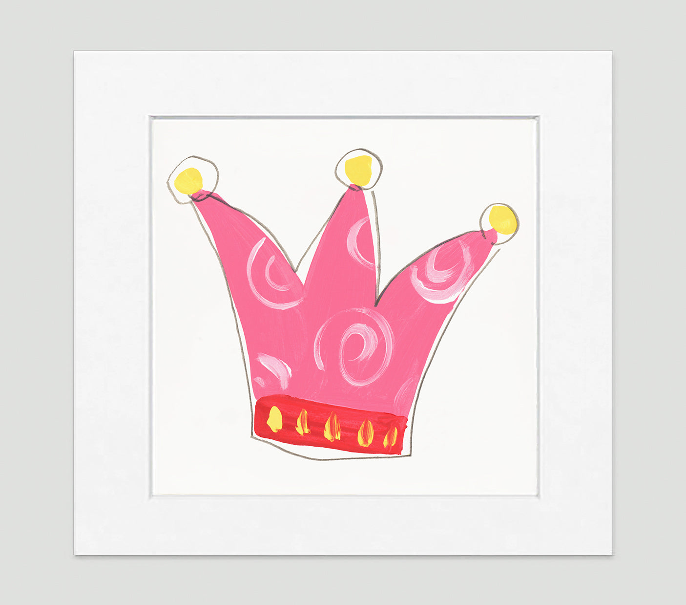 Queen Art Print - Kids Wall Art Collection-Di Lewis