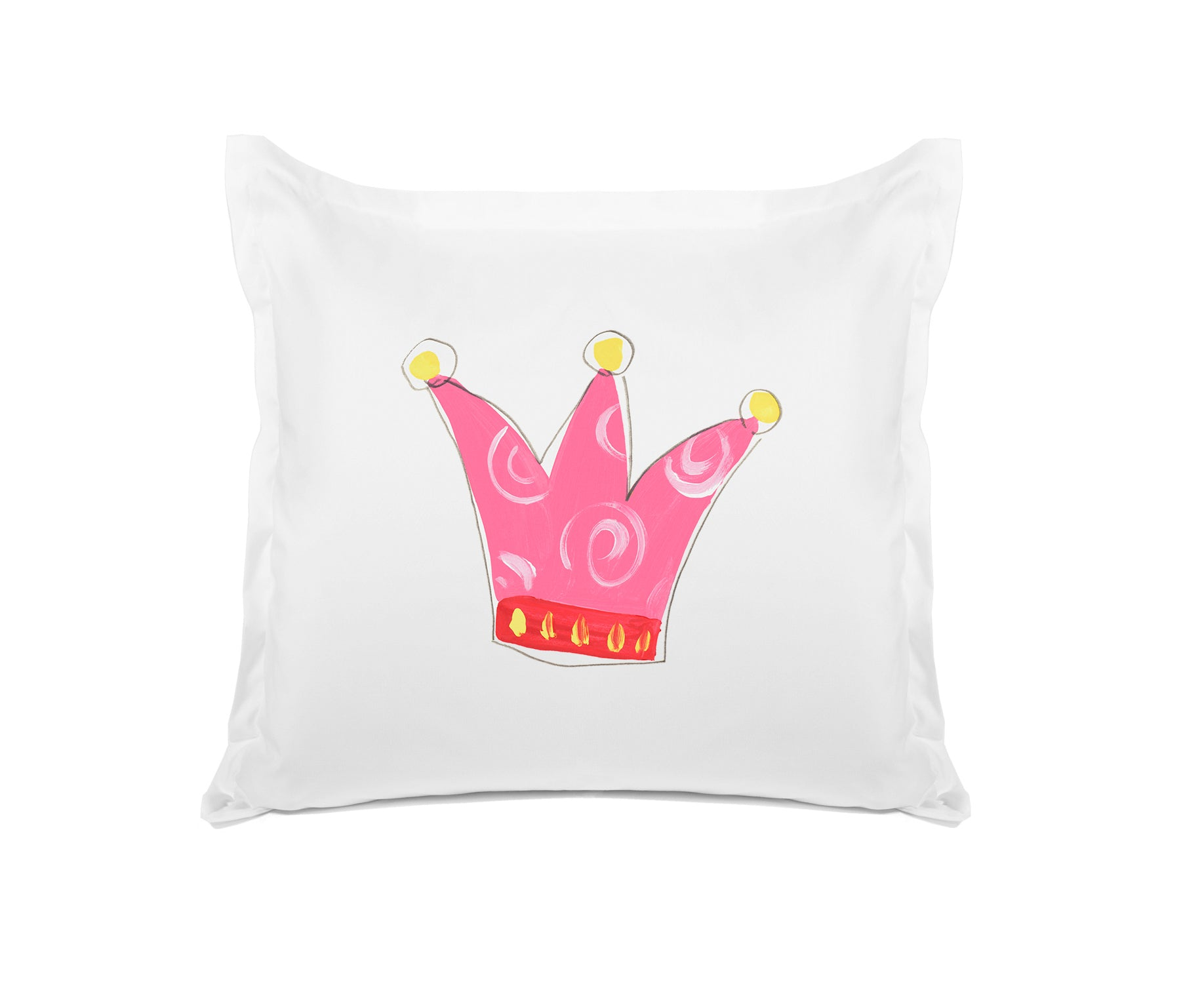 Queen Kids Euro Sham, Di Lewis Kids Bedding