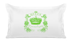 Queen of Just About Everything Vintage Pillow case Di Lewis Bedroom Decor