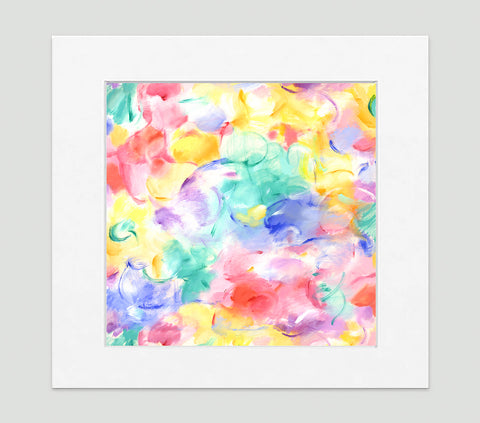 Remy Impressionist Art Print Di Lewis Living Room Wall Decor