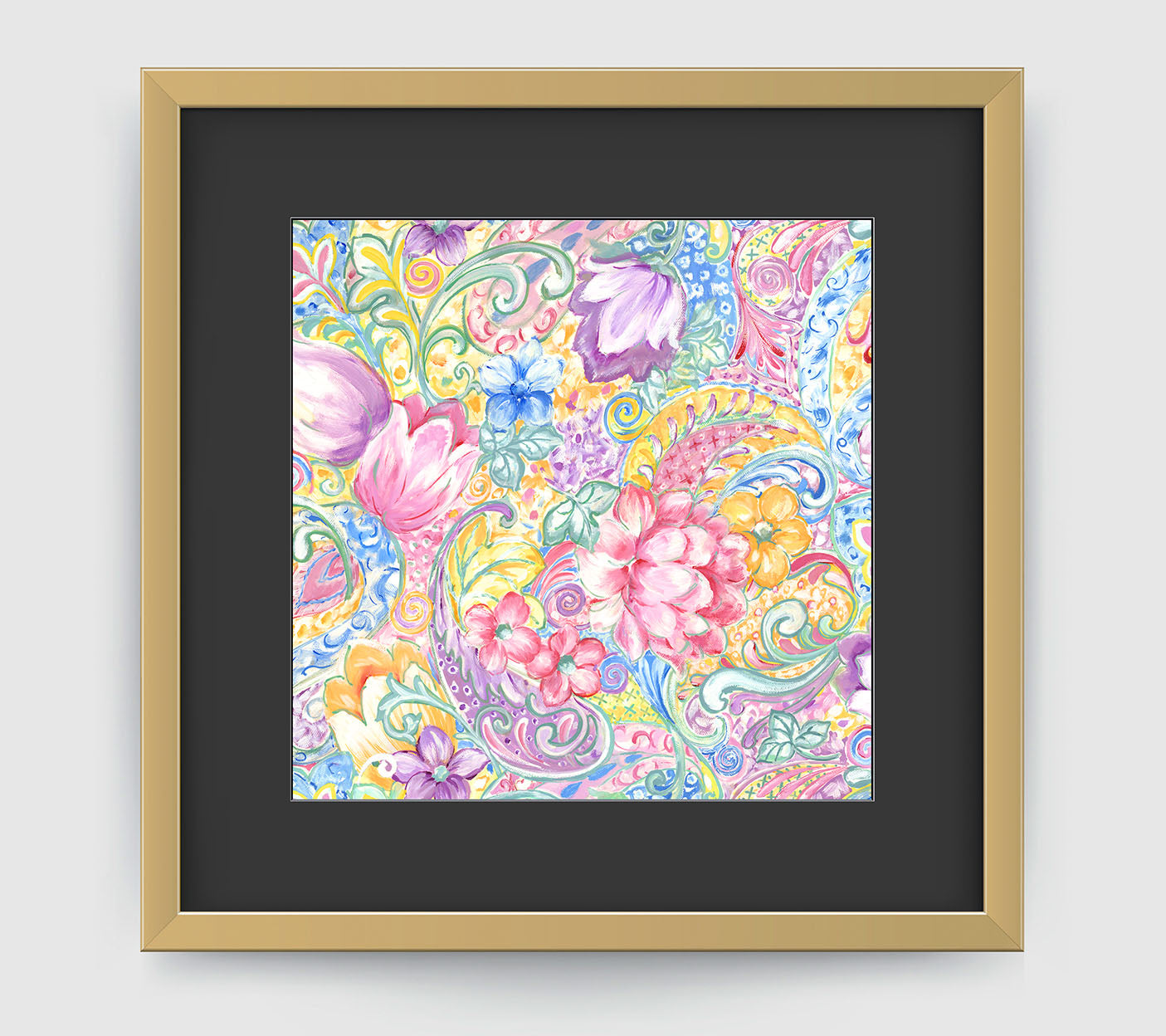 Romance Floral Art Print Di Lewis Living Room Wall Decor